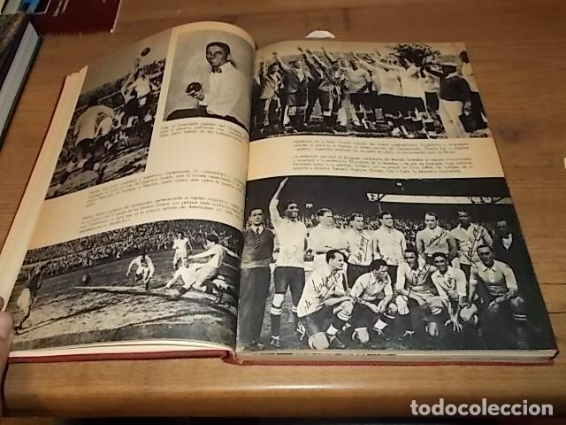 Coleccionismo deportivo: CAMPEONATO MUNDIAL DE FÚTBOL.CHILE,1962. INTRODUCCIÓN KUBALA. ED. VERGARA. 1ª EDICIÓN 1962. UNA JOYA - Foto 6 - 153241654