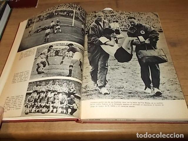 Coleccionismo deportivo: CAMPEONATO MUNDIAL DE FÚTBOL.CHILE,1962. INTRODUCCIÓN KUBALA. ED. VERGARA. 1ª EDICIÓN 1962. UNA JOYA - Foto 12 - 153241654