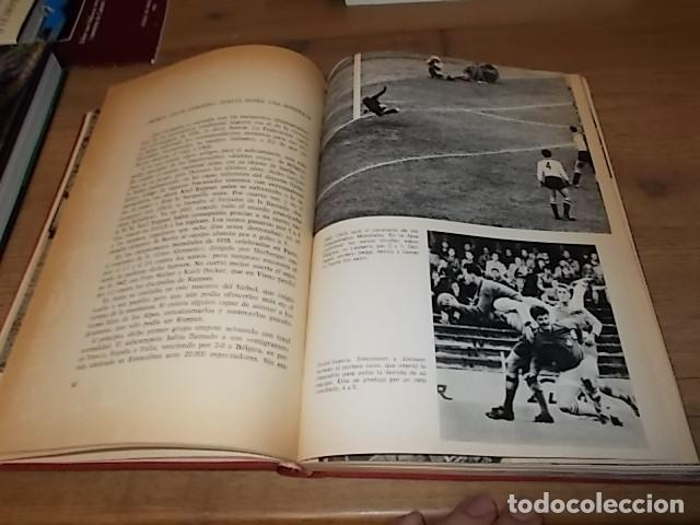 Coleccionismo deportivo: CAMPEONATO MUNDIAL DE FÚTBOL.CHILE,1962. INTRODUCCIÓN KUBALA. ED. VERGARA. 1ª EDICIÓN 1962. UNA JOYA - Foto 13 - 153241654