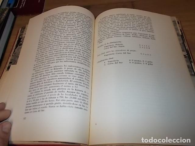 Coleccionismo deportivo: CAMPEONATO MUNDIAL DE FÚTBOL.CHILE,1962. INTRODUCCIÓN KUBALA. ED. VERGARA. 1ª EDICIÓN 1962. UNA JOYA - Foto 16 - 153241654