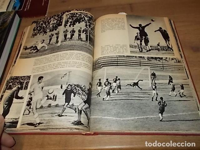 Coleccionismo deportivo: CAMPEONATO MUNDIAL DE FÚTBOL.CHILE,1962. INTRODUCCIÓN KUBALA. ED. VERGARA. 1ª EDICIÓN 1962. UNA JOYA - Foto 23 - 153241654