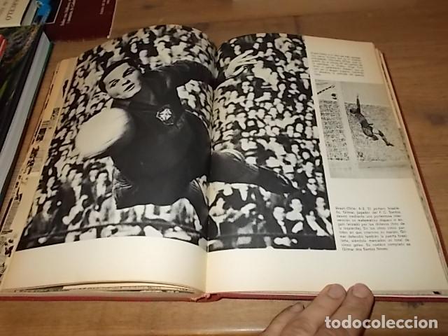 Coleccionismo deportivo: CAMPEONATO MUNDIAL DE FÚTBOL.CHILE,1962. INTRODUCCIÓN KUBALA. ED. VERGARA. 1ª EDICIÓN 1962. UNA JOYA - Foto 31 - 153241654