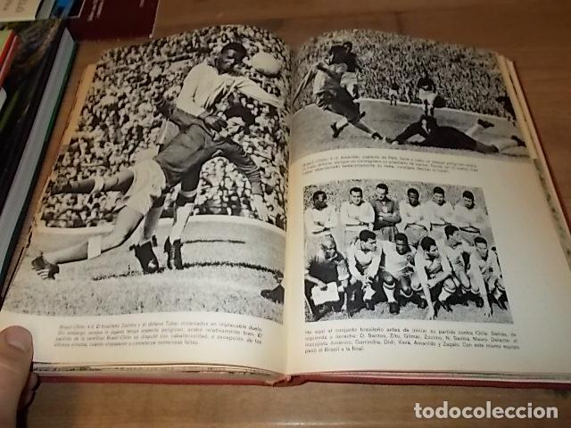 Coleccionismo deportivo: CAMPEONATO MUNDIAL DE FÚTBOL.CHILE,1962. INTRODUCCIÓN KUBALA. ED. VERGARA. 1ª EDICIÓN 1962. UNA JOYA - Foto 32 - 153241654