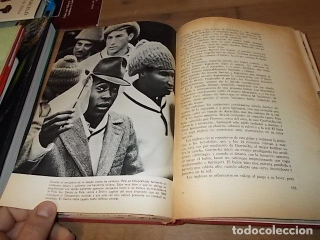 Coleccionismo deportivo: CAMPEONATO MUNDIAL DE FÚTBOL.CHILE,1962. INTRODUCCIÓN KUBALA. ED. VERGARA. 1ª EDICIÓN 1962. UNA JOYA - Foto 33 - 153241654