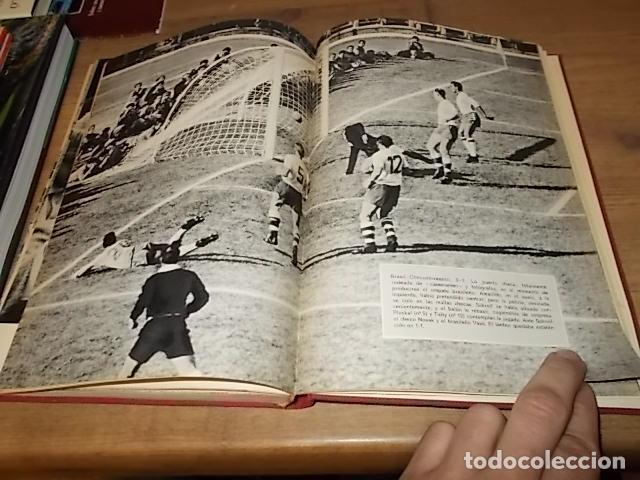 Coleccionismo deportivo: CAMPEONATO MUNDIAL DE FÚTBOL.CHILE,1962. INTRODUCCIÓN KUBALA. ED. VERGARA. 1ª EDICIÓN 1962. UNA JOYA - Foto 36 - 153241654