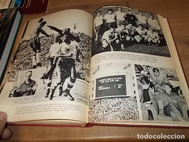 Coleccionismo deportivo: CAMPEONATO MUNDIAL DE FÚTBOL.CHILE,1962. INTRODUCCIÓN KUBALA. ED. VERGARA. 1ª EDICIÓN 1962. UNA JOYA - Foto 37 - 153241654