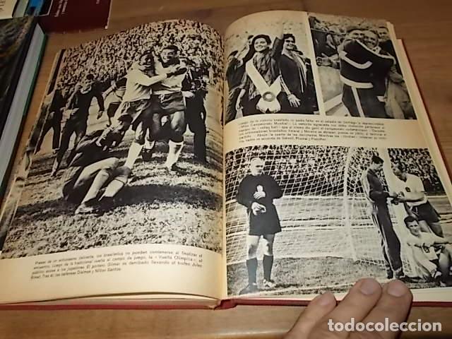 Coleccionismo deportivo: CAMPEONATO MUNDIAL DE FÚTBOL.CHILE,1962. INTRODUCCIÓN KUBALA. ED. VERGARA. 1ª EDICIÓN 1962. UNA JOYA - Foto 38 - 153241654