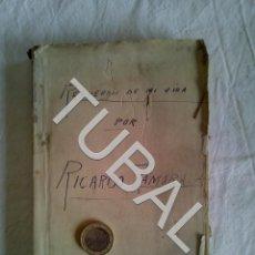 Coleccionismo deportivo: TUBAL RICARDO ZAMORA RECUERDOS DE MI VIDA. Lote 153554546