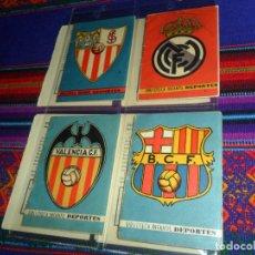 Coleccionismo deportivo - BIBLIOTECA INFANTIL DEPORTES 2 REAL MADRID 3 FC BARCELONA 4 VALENCIA CF 5 SEVILLA FC. ALONSO 1942-3. - 153651082