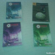 Coleccionismo deportivo: ANUARIOS DEL FUTBOL ESPAÑOL. LOTE DE 4 SEGUIDOS. CRONOLOGICOS.. Lote 153808946