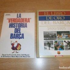 Coleccionismo deportivo: LOTE 2 LIBROS DEL BARÇA. Lote 154697806