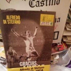 Coleccionismo deportivo: LIBROS ALFREDO DI STEFANO : GRACIAS VIEJA Y EL 9 QE FUE UN 10. HISTORICOS. Lote 154846158