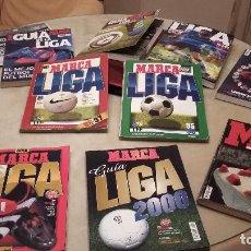 Coleccionismo deportivo: LOTE GUIAS MARCA ANTIGUAS ESPAÑA. 10 NUMEROS.. Lote 154847714