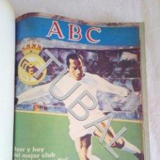 Coleccionismo deportivo: TUBAL ABC HISTORIA DEL REAL MADRID 2 TOMOS COMPLETISIMO. Lote 155133562