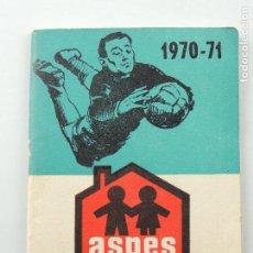 Coleccionismo deportivo: LIBRITO DINAMICO LIGA DE FUTBOL 1970 -1971 . Lote 155222350