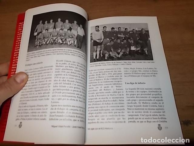 Coleccionismo deportivo: UN SIGLO CON EL R.C.D. MALLORCA ( 1916 - 2016 ). MIGUEL VIDAL PERELLÓ / JORDI VIDAL. VER FOTOS. - Foto 9 - 228344430