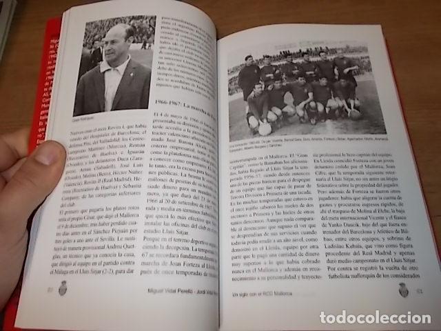 Coleccionismo deportivo: UN SIGLO CON EL R.C.D. MALLORCA ( 1916 - 2016 ). MIGUEL VIDAL PERELLÓ / JORDI VIDAL. VER FOTOS. - Foto 13 - 228344430