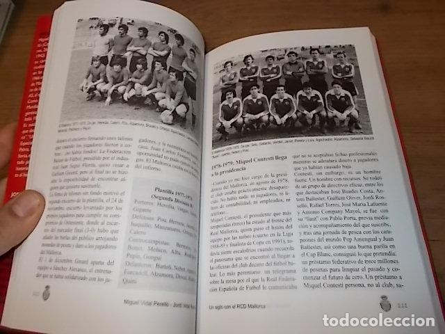 Coleccionismo deportivo: UN SIGLO CON EL R.C.D. MALLORCA ( 1916 - 2016 ). MIGUEL VIDAL PERELLÓ / JORDI VIDAL. VER FOTOS. - Foto 14 - 228344430