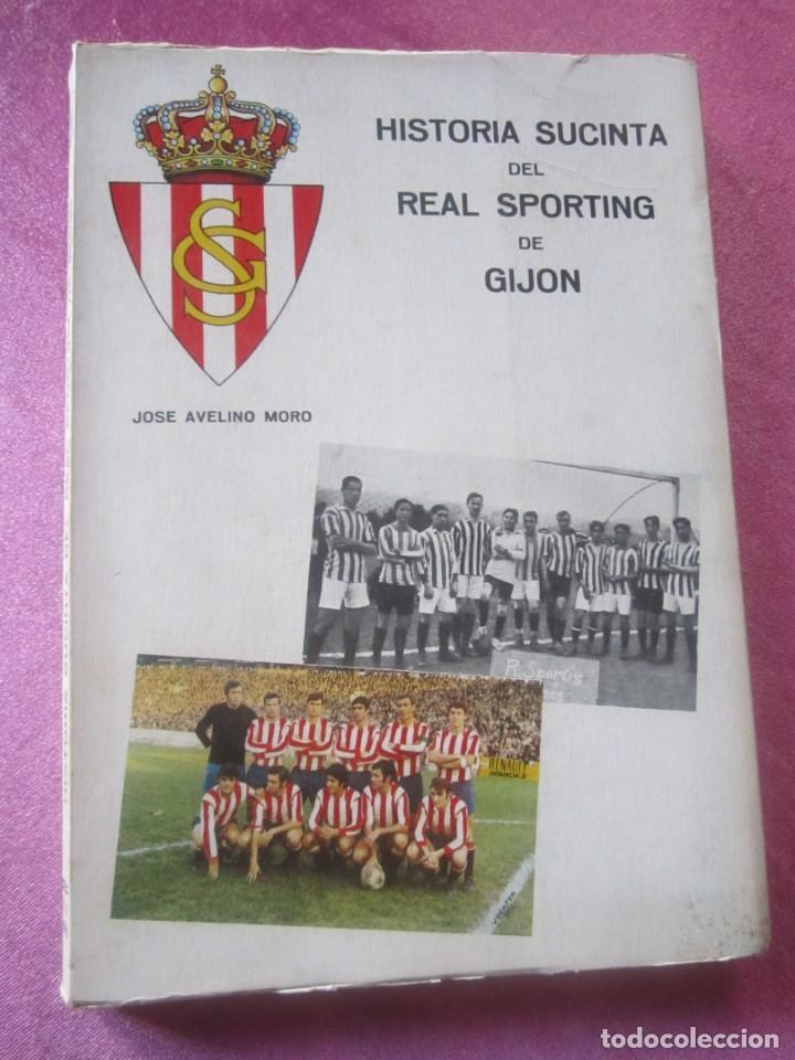 Coleccionismo deportivo: HISTORIA SUCINTA DEL REAL SPORTING DE GIJON. AVELINO MORO. AÑO 1972 - Foto 2 - 155471702