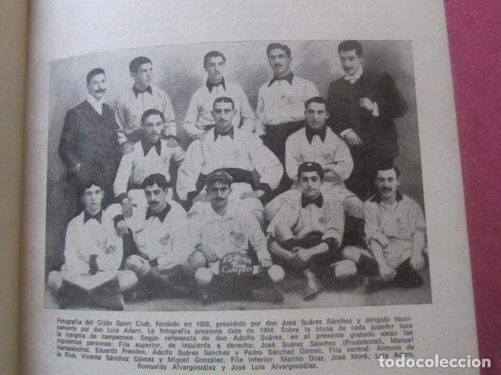 Coleccionismo deportivo: HISTORIA SUCINTA DEL REAL SPORTING DE GIJON. AVELINO MORO. AÑO 1972 - Foto 4 - 155471702