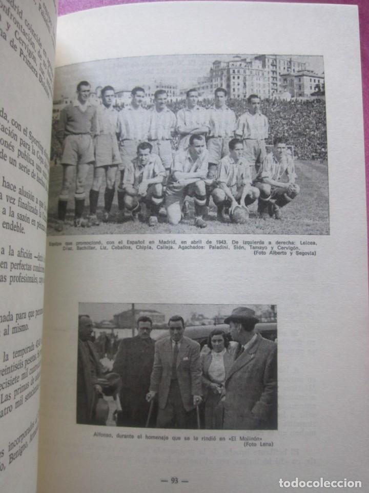 Coleccionismo deportivo: HISTORIA SUCINTA DEL REAL SPORTING DE GIJON. AVELINO MORO. AÑO 1972 - Foto 5 - 155471702