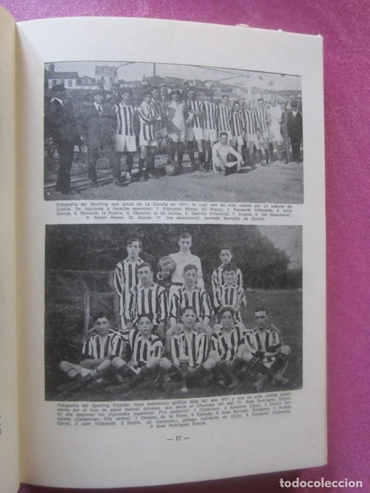 Coleccionismo deportivo: HISTORIA SUCINTA DEL REAL SPORTING DE GIJON. AVELINO MORO. AÑO 1972 - Foto 6 - 155471702