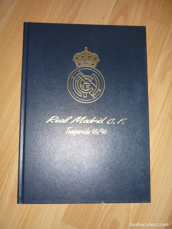 Coleccionismo deportivo: LIBRO OFICIAL TAPA DURA REAL MADRID 95.96 GMG MADRID - Foto 2 - 155969026