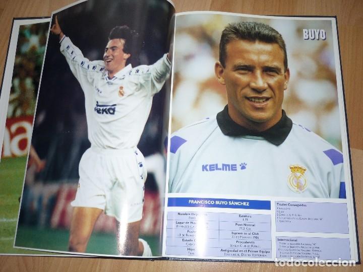 Coleccionismo deportivo: LIBRO OFICIAL TAPA DURA REAL MADRID 95.96 GMG MADRID - Foto 4 - 155969026