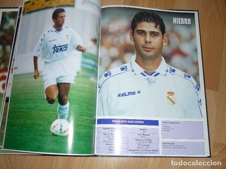 Coleccionismo deportivo: LIBRO OFICIAL TAPA DURA REAL MADRID 95.96 GMG MADRID - Foto 5 - 155969026