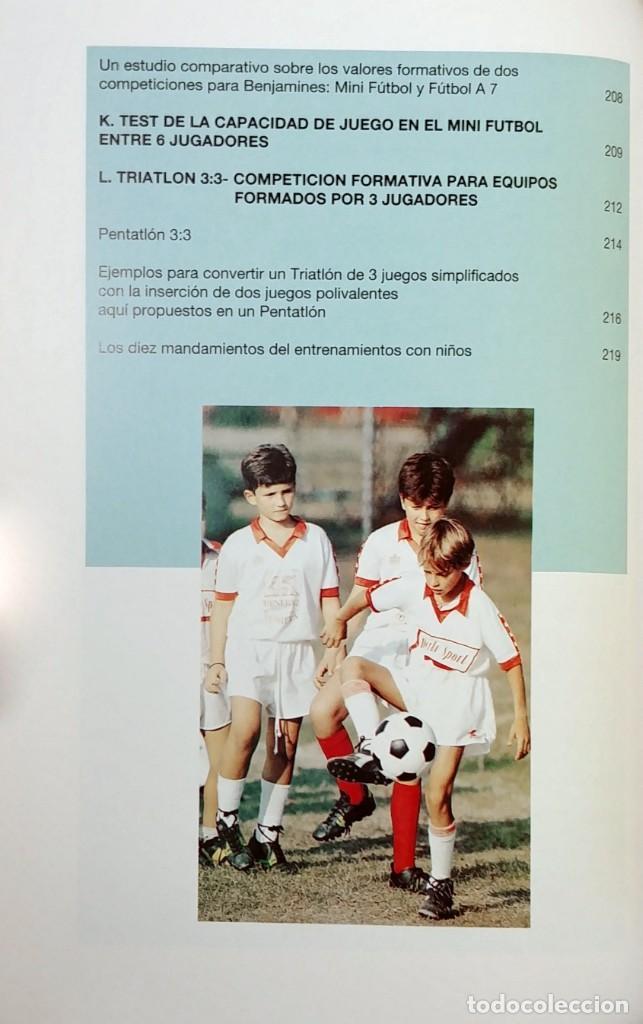 Coleccionismo deportivo: FÚTBOL A LA MEDIDA DEL NIÑO / HORST WEIN ; JAVIER CLEMENTE. REAL FEDERACIÓN ESPAÑOLA DE FÚTBOL, 1995 - Foto 5 - 156033186