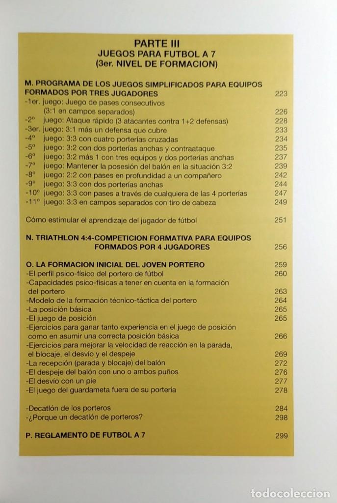 Coleccionismo deportivo: FÚTBOL A LA MEDIDA DEL NIÑO / HORST WEIN ; JAVIER CLEMENTE. REAL FEDERACIÓN ESPAÑOLA DE FÚTBOL, 1995 - Foto 6 - 156033186