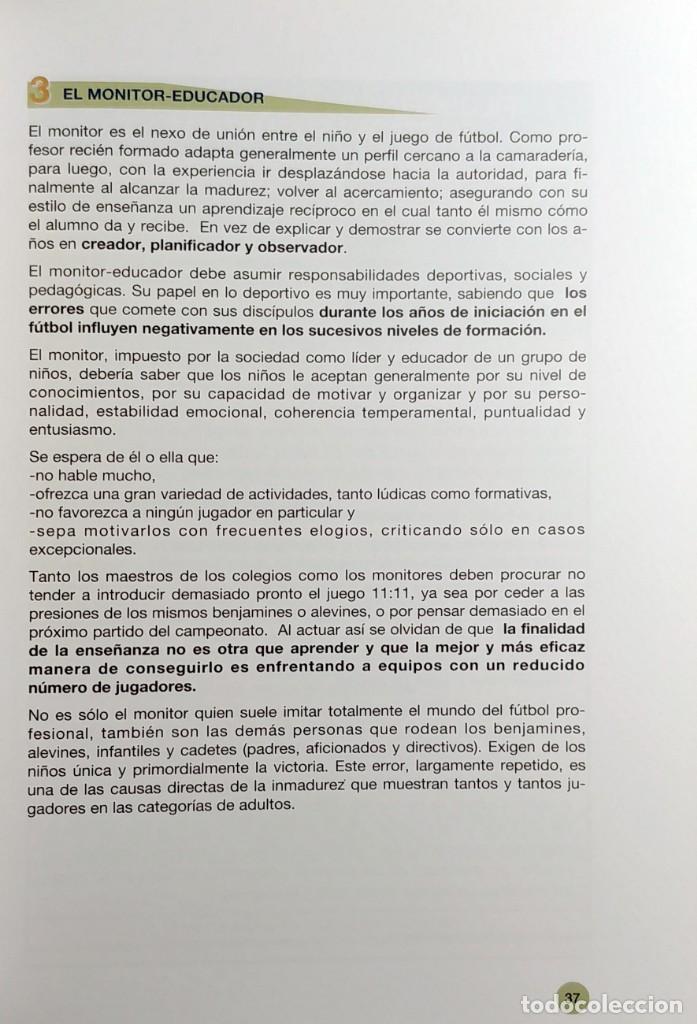 Coleccionismo deportivo: FÚTBOL A LA MEDIDA DEL NIÑO / HORST WEIN ; JAVIER CLEMENTE. REAL FEDERACIÓN ESPAÑOLA DE FÚTBOL, 1995 - Foto 8 - 156033186