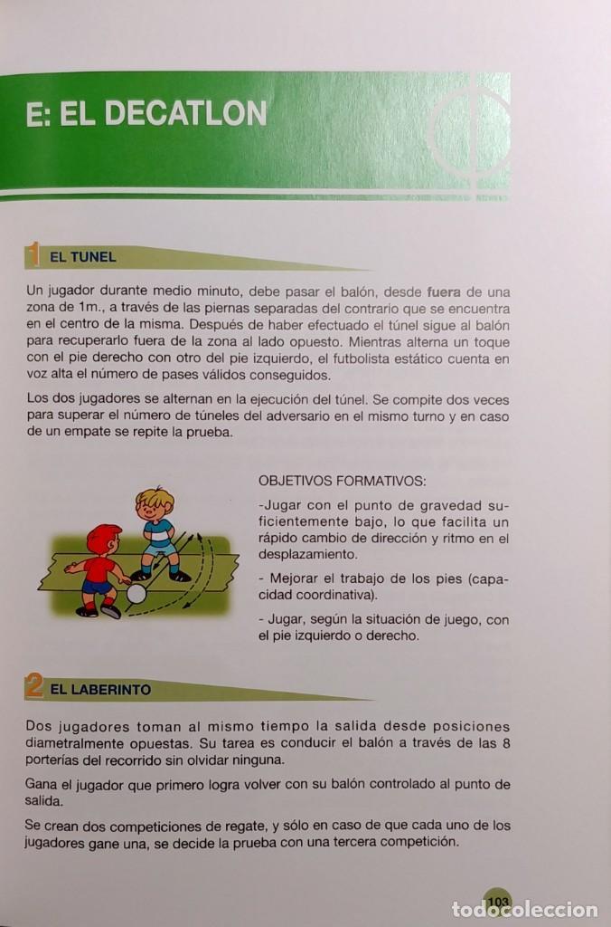Coleccionismo deportivo: FÚTBOL A LA MEDIDA DEL NIÑO / HORST WEIN ; JAVIER CLEMENTE. REAL FEDERACIÓN ESPAÑOLA DE FÚTBOL, 1995 - Foto 9 - 156033186