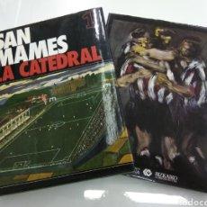 Coleccionismo deportivo: SAN MAMES LA CATEDRAL ATHLETIC CLUB DE BILBAO 2 TOMOS HISTORIA INICIOS HASTA 1982 ILUSTRADO. Lote 189614773