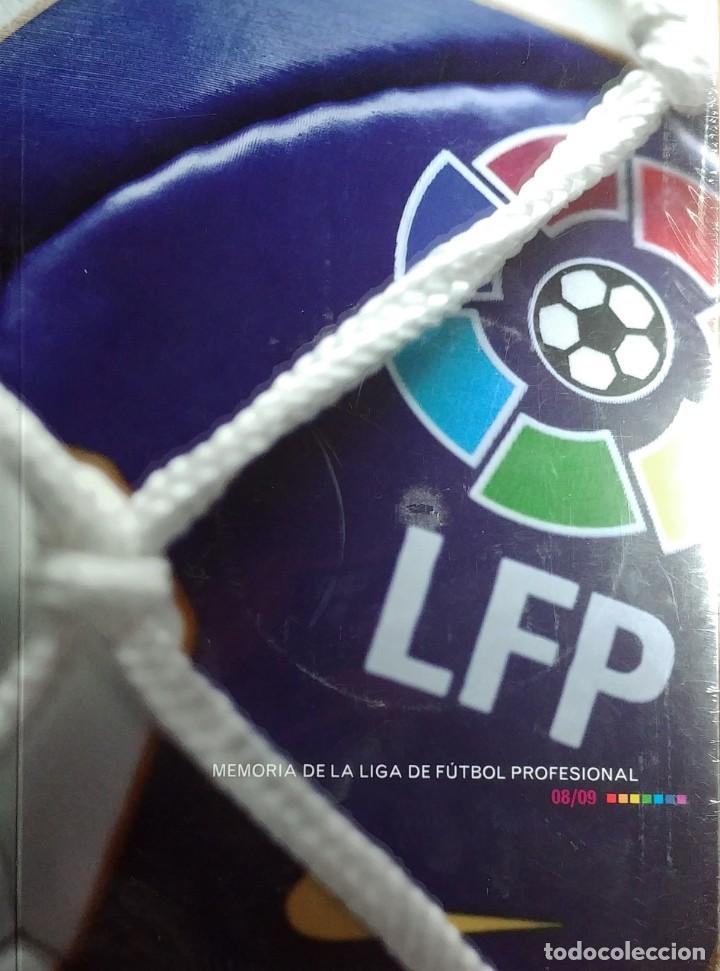MEMORIA DE LA LIGA DE FÚTBOL PROFESIONAL 08 / 09 = ANNUAL REPORT OF LA LIGA DE FÚTBOL PROFESIONAL. (Coleccionismo Deportivo - Libros de Fútbol)