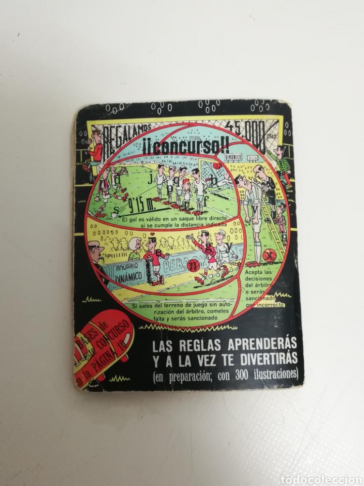 Coleccionismo deportivo: Librito Anuario dinamico 1971 1972 - libro calendario 71 72 - Foto 2 - 156809218