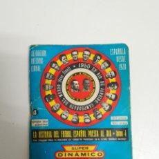 Coleccionismo deportivo: LIBRITO SUPER DINAMICO 1974 1975 - LIBRO CALENDARIO 74 75. Lote 156810130