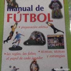 Coleccionismo deportivo: MANUAL DE FÚTBOL SUSAETA . Lote 157357722