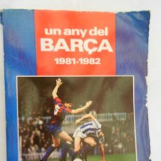 Colecionismo desportivo: UN ANY DEL BARÇA 1981-1982. . Lote 157756306