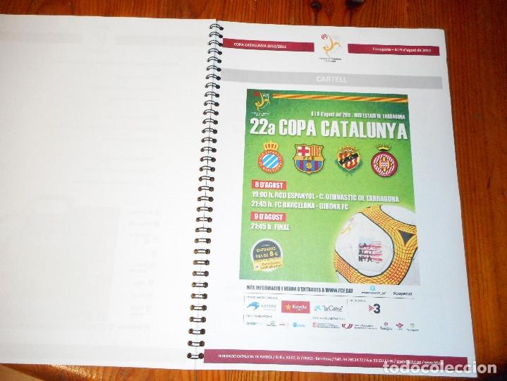 Coleccionismo deportivo: Copa Catalunya 2010/2011 - Tarragona - Foto 2 - 81062456