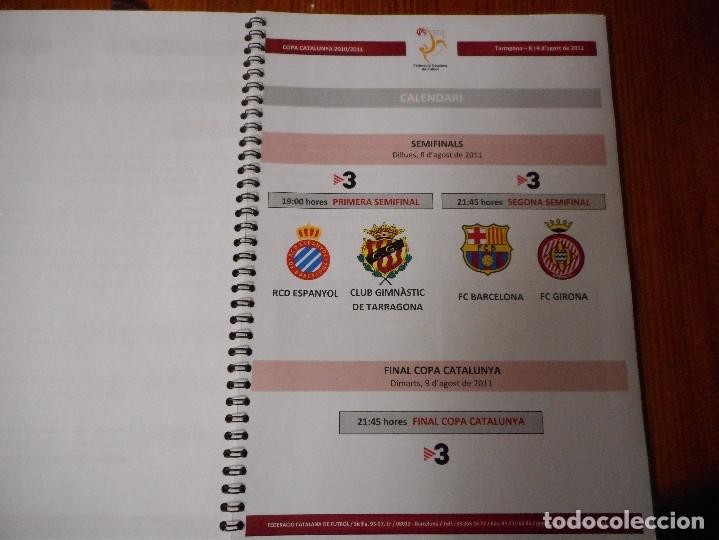 Coleccionismo deportivo: Copa Catalunya 2010/2011 - Tarragona - Foto 3 - 81062456