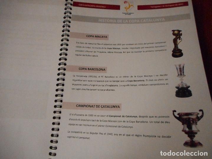 Coleccionismo deportivo: Copa Catalunya 2010/2011 - Tarragona - Foto 4 - 81062456