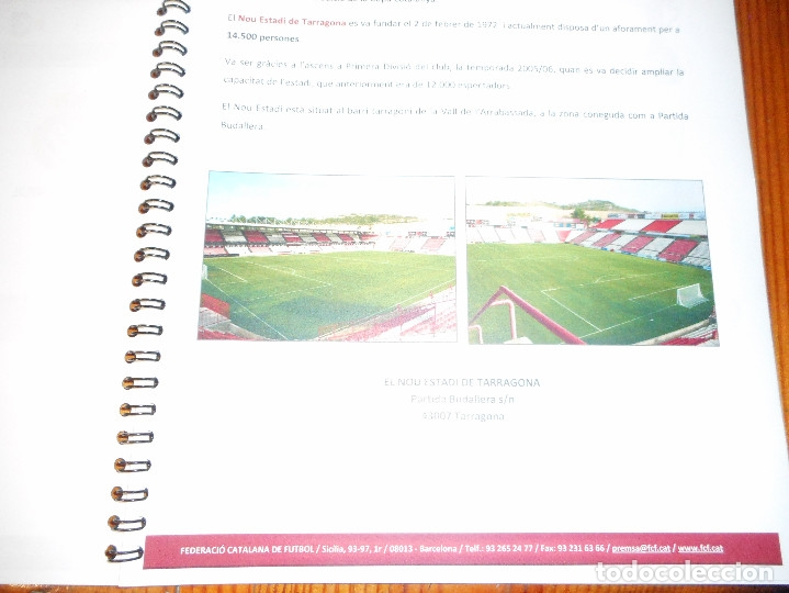 Coleccionismo deportivo: Copa Catalunya 2010/2011 - Tarragona - Foto 5 - 81062456