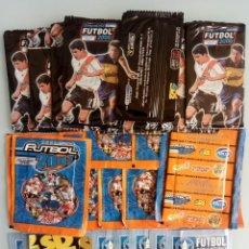 Coleccionismo deportivo: LOT STICKER BAGS + ALBUM DS. - ARGENTINA FUTBOL 2000+2001+2002 - + 30 BAGS #. Lote 157820038