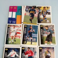 Coleccionismo deportivo: TRADING CARDS UPPER-DECK. - FÚTBOL ARGENTINO CAMPEONATO APERTURA'95.#. Lote 157822546