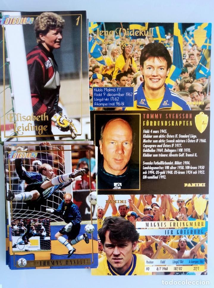 Coleccionismo deportivo: TRADING CARDS PANINI. - FOTBOLL 95.# - Foto 2 - 157824858