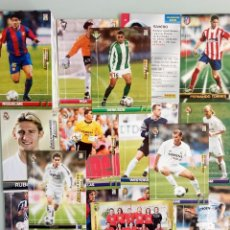 Coleccionismo deportivo: LOT TRADING CARDS - PANINI MEGA FICHAS LIGA 2003-2004. + 100 CARDS. Lote 157825758