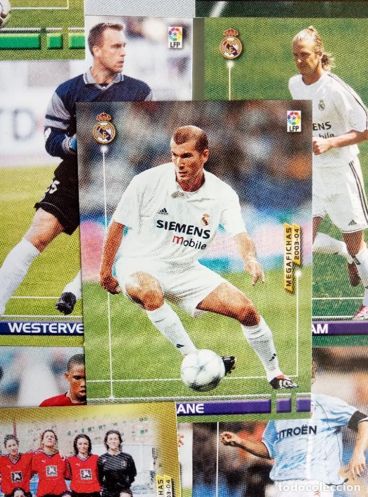 Coleccionismo deportivo: LOT TRADING CARDS - PANINI MEGA FICHAS LIGA 2003-2004. + 100 cards - Foto 2 - 157825758