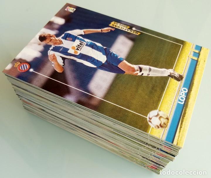 Coleccionismo deportivo: LOT TRADING CARDS - PANINI MEGA FICHAS LIGA 2003-2004. + 100 cards - Foto 5 - 157825758