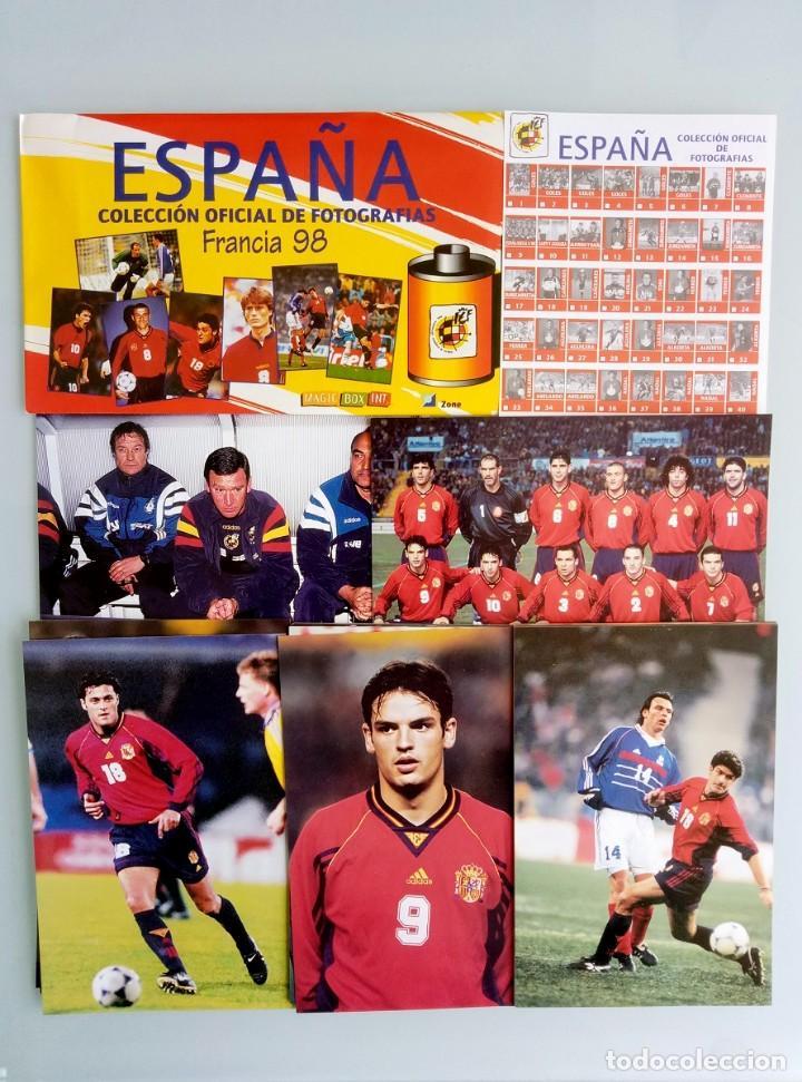 MAGIC BOX COLLECTION. - COLECCIÓN OFICIAL DE FOTOS FRANCIA 98.. + 10 FOTOS# (Coleccionismo Deportivo - Libros de Fútbol)